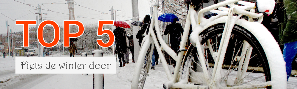 Livemobility - Top 5 - Fiets de winter door